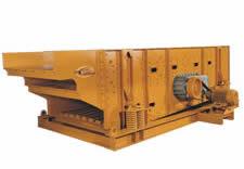 Deister, Three-deck 6' x 20' triple-shaft horizontal screen