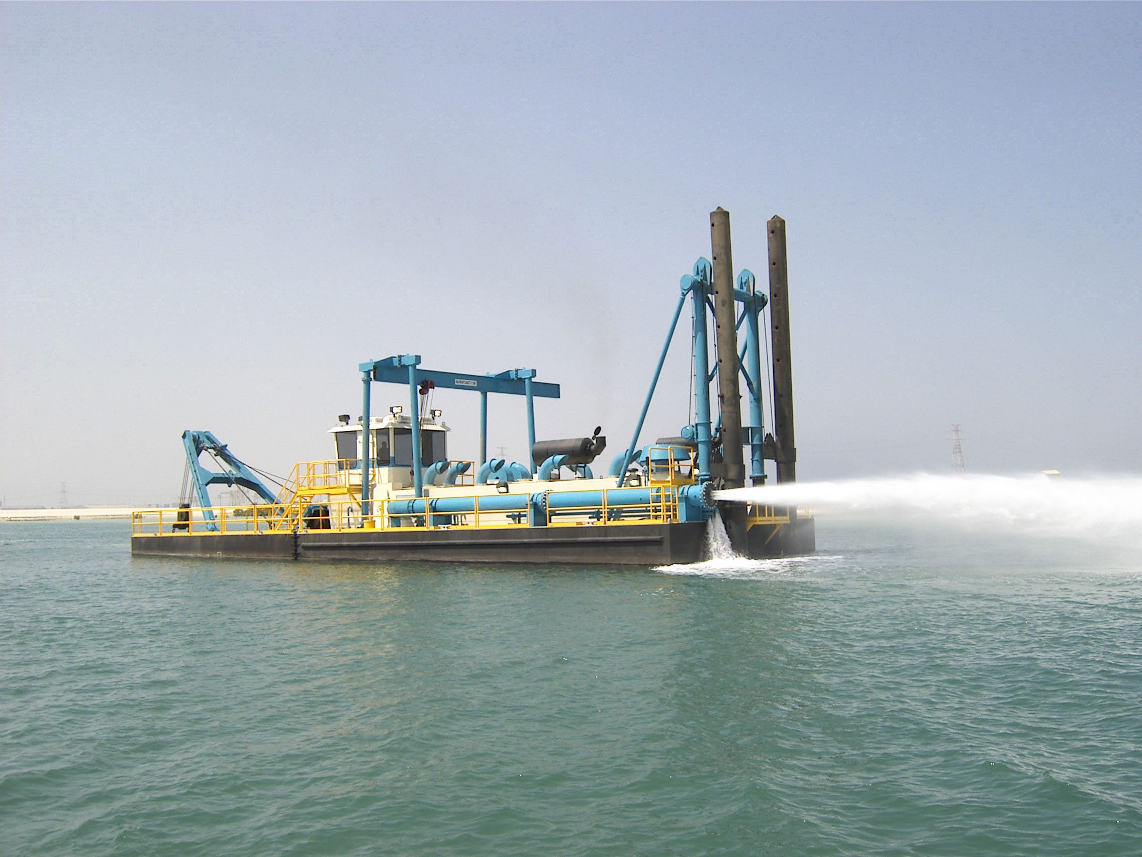 Portable Suction Dredge : Shark dredges by dsc dredge aggregates and mining today