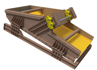 Deister, High-Capacity Mine-Duty Screen