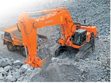 hitachi ex1200 6 excavator aggregates and mining today. Black Bedroom Furniture Sets. Home Design Ideas