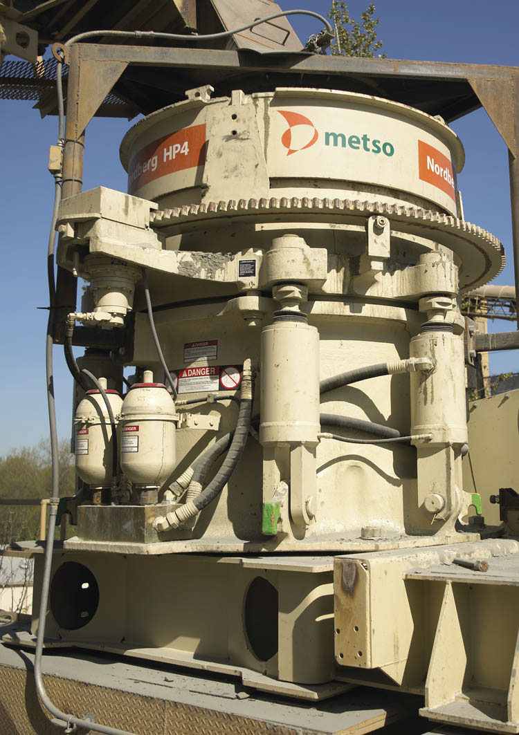 nordberg hp4 and hp5 cone crushers from metso aggregates and rh a aggregatesandminingtoday com Gyratory Crusher Gyratory Crusher