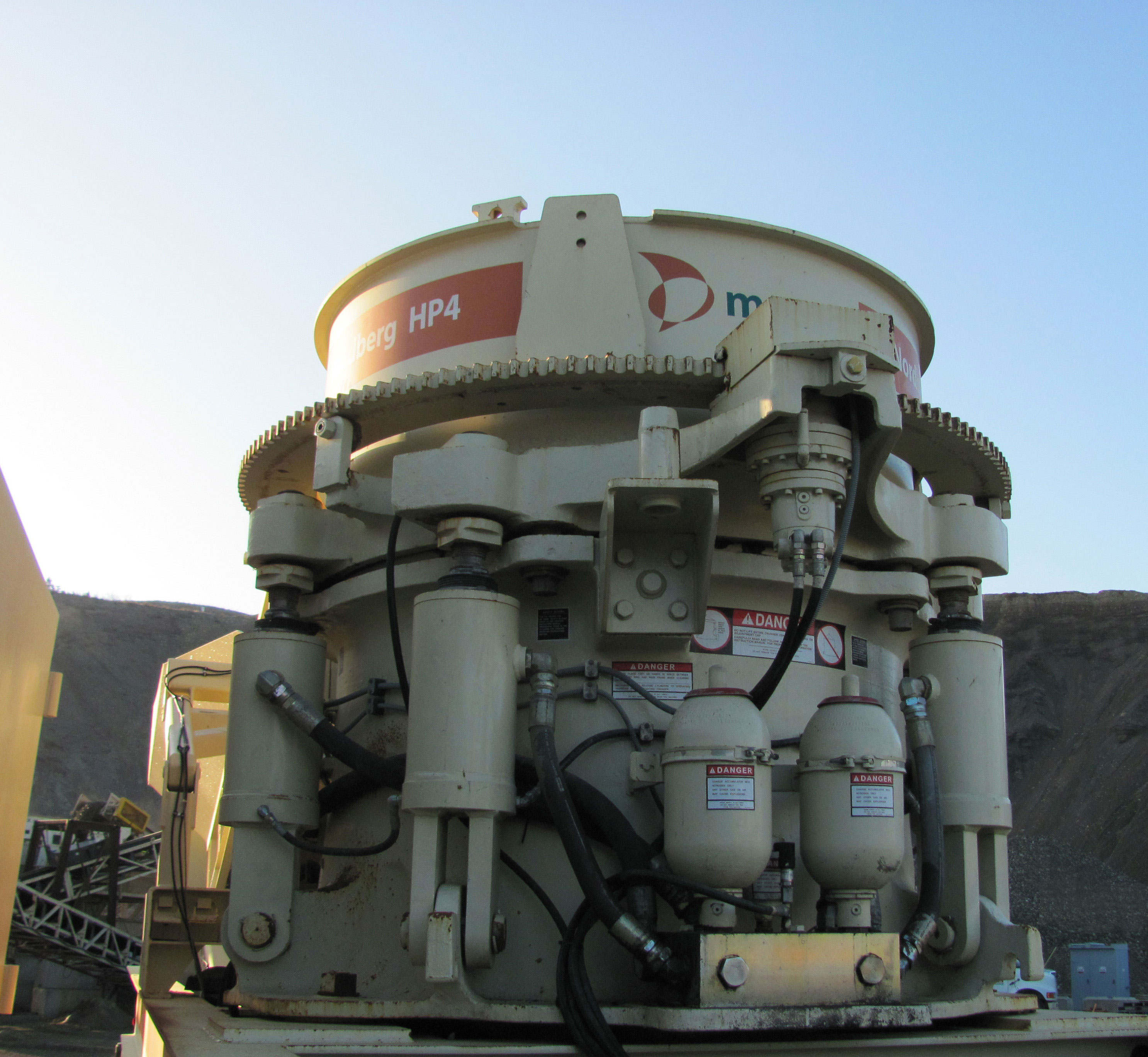 nordberg hp4 and hp5 cone crushers from metso aggregates and rh a aggregatesandminingtoday com Gyratory Crusher Nordberg Impact Crushers