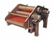 Deister, Single-deck 6' x 12' dewatering screen